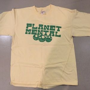 Mental t-shirt 2002-3 - Lockin Out Records